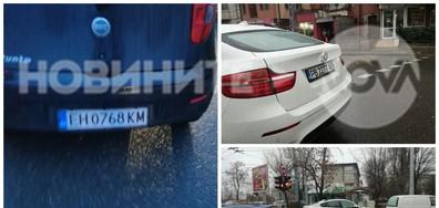 Нагло паркиране в Пловдив