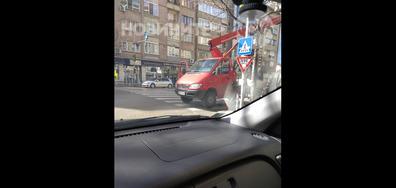 Спрял на пешеходна пътека