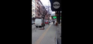 Неправилно паркиране в центъра на София
