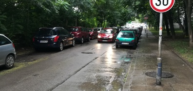 Незаконно паркиране и никакви действия