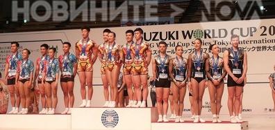 Бронзови медали за националния отбора по спортна аеробика