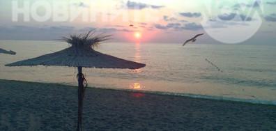 Тихо, нежно морско утро