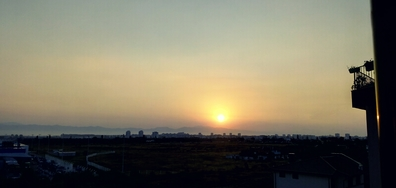 Първите лъчи на слънцето