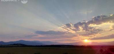 Залязващо слънце