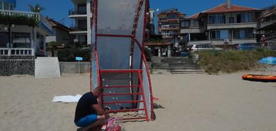 Липса на спасител на плажа в Созопол-Харманите