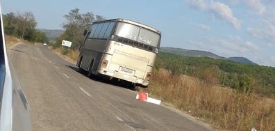 Аварирал автобус