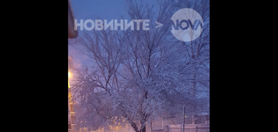 Бяло утро в Добрич