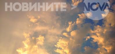 Залезно над Плевен след жаркия летен ден