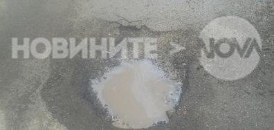 """Състоянието на бул. """"Янко Сакъзов"""" в София"""