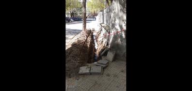 Изкоп, който не се ремонтира трета седмица