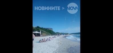 """Няма спасителни постове на """"Северен плаж"""", Приморско"""