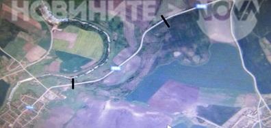 Липса на пътна маркировка на международен път 554 между Гълъбово и Раднево