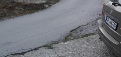 Така се асфалтира в село Николово