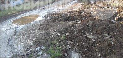 Разкопките на ВиК в Угърчин