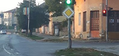 Неработещ светофар