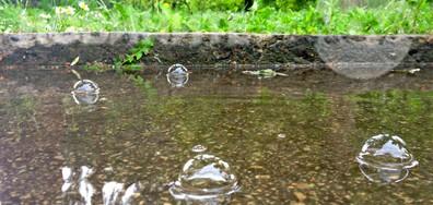 Дъжд в празничния ден