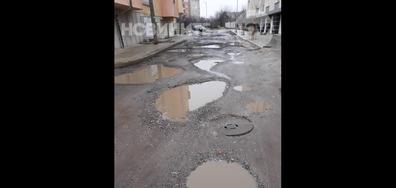 """Улица в кв. """"Манастирски ливади"""" - Запад"""