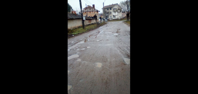 Пътят в с. Баница, област Враца