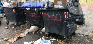Кофите за боклук във Варна