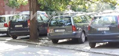 """Ужасяващо нашествие на автомобили в кв. """"Стрелбище"""", София"""