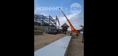 """Строителни дейности в к.к. """"Златни пясъци"""""""