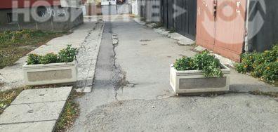 Неправомерно запушване на улица