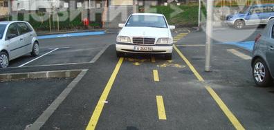 Да паркираш на инат