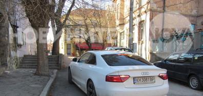 Паркиране на инвалидна рампа