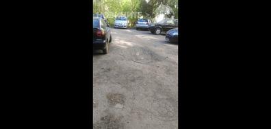 Разбити тротоари и улици