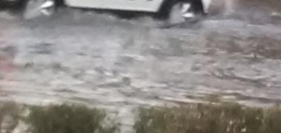 "Наводнение в пловдивския квартал ""Тракия"""