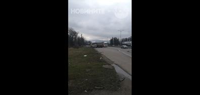 Отново катастрофа на Околовръстното в София