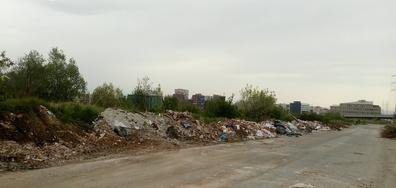 Изхвърлени строителни материали