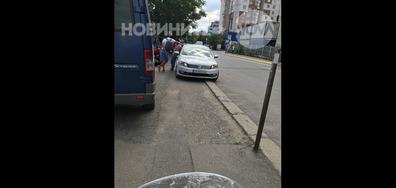 """Паркиране върху тротоар в столичния квартал """"Младост 4"""""""