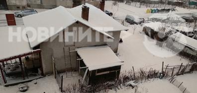 Кафяв сняг в Силистра