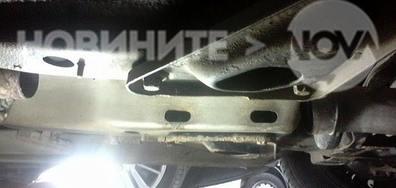 "Брутална кражба на буферен паркинг на метрото на ""Цариградско шосе"""