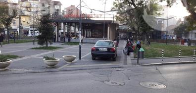 """Паркиране на """"Женския пазар"""""""