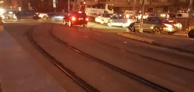 Нарушение на пътя в София