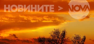 Красиво зарево над Варна