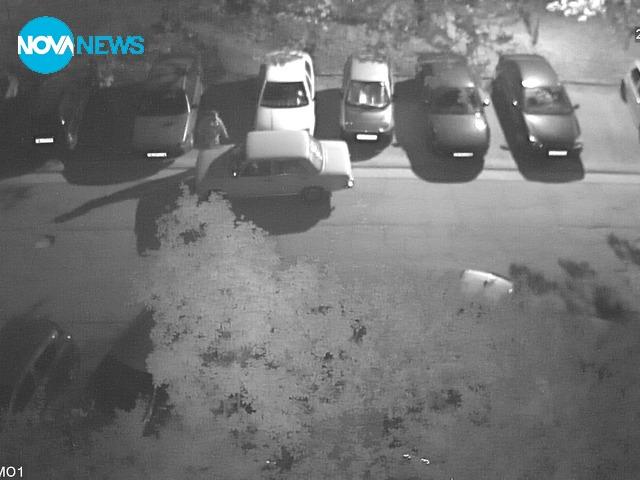 Кражба на акумулатор от кола