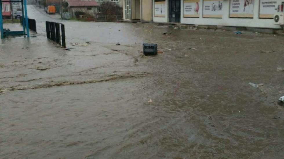 Наводнение в гр. Средец, обл. Бургас