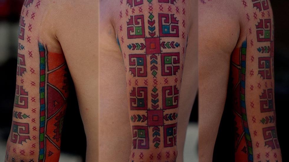 Фолклорна татуировка
