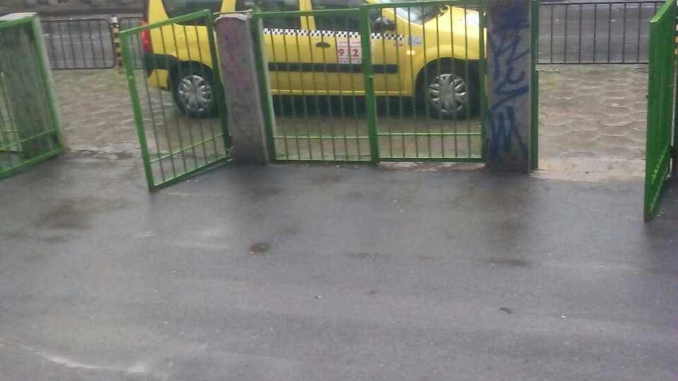 Такси на тротоара