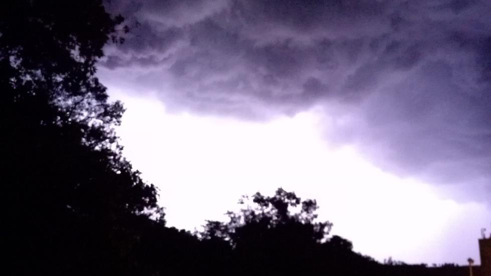 Буря покрай Карнобат