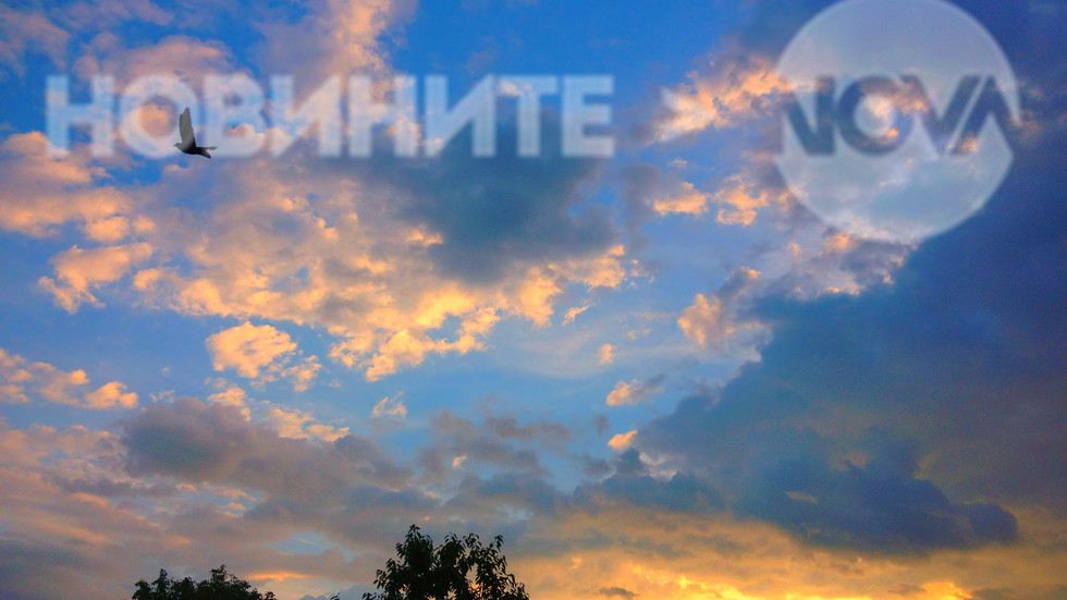 Фантазия в небето на залез