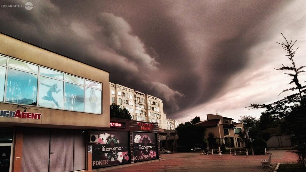 Буря над Ямбол