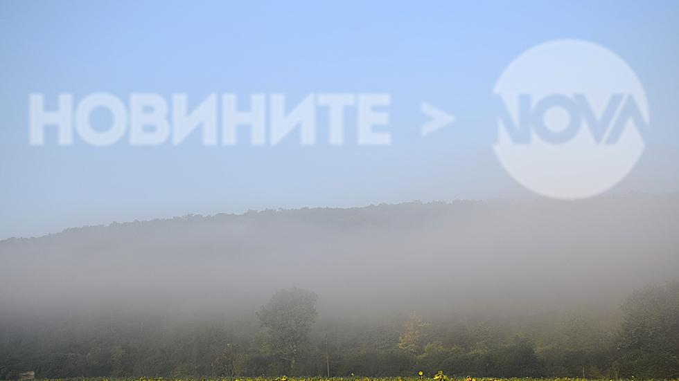 Утро в мъгла- в разгара на лятото!