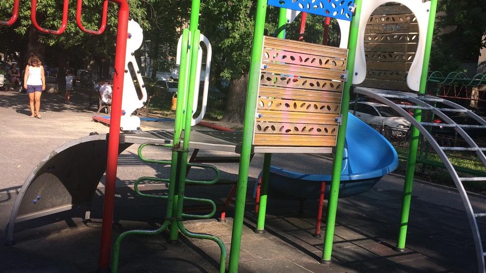 Детските площадки