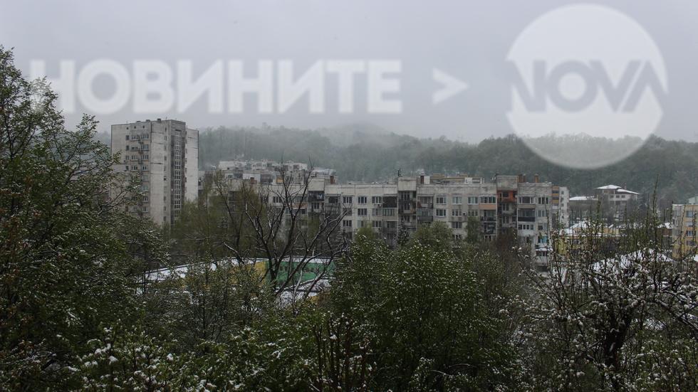 Времето в Габрово - нов сняг