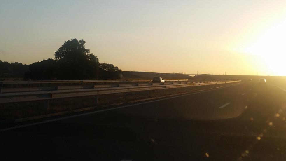 """Каране в насрещното по магистрала """"Тракия"""""""