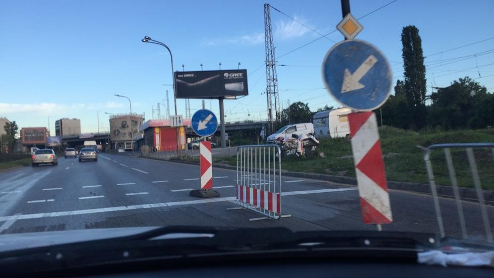 Пътна обстановка - причина за задръстване